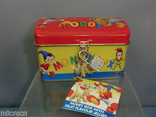 "TINPLATE ""NODDY"" petto Money Box, lock & key"