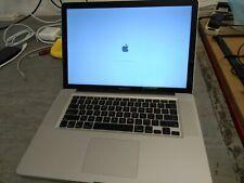 MacBook Pro 15 2010 A1286 i7 dual core 2.66ghz 8GB 500GB Sata High Sierra