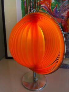 Moon Lamp Tischlampe Pop Art Verner Panton Stil Space Age Retro 70er Modern