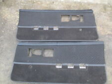 82-92 Camaro Door panels RS MANUAL CRANK WINDOWS LH RH PAIR SET 3RD GEN FIREBIRD