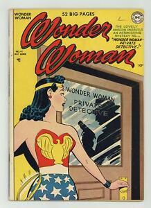 Wonder Woman #41 VG+ 4.5 1950