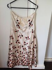 Party/Cocktail Midi Floral 100% Silk Dresses for Women