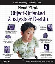 Head First Object-Oriented Analysis and Design by Brett D. McLaughlin, Gary Pol