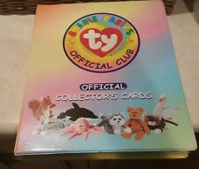 Ty Beanie Babies Card Club Collector's Cards Album series1&2, 26 retired silver