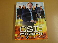 3-DISC DVD BOX / CSI: MIAMI - SEIZOEN 3 - AFLEVERING 3.13 - 3.24