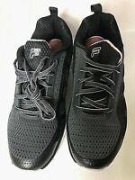 Fila Women's Memory-Diskize-2  Memory Foam Running Shoes size 10 Black and Pink