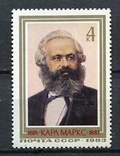 30376) RUSSIA 1983 MNH** Karl Marx 1v. Scott#5139