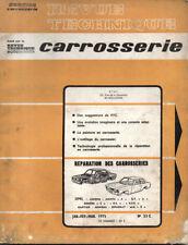 RTA revue technique automobile CARROSSERIE 33 OPEL MANTA ASCONA GT REKORD KAPITA