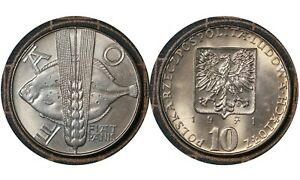 10 Złotych 1971 Poland 🇵🇱 Coin FAO Agricultural Progress Series Y# 63