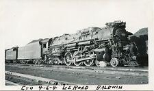 6A864 RP 1940/50s C&O CHESAPEAKE & OHIO RAILROAD ENGINE #304 CINCINNATI OHIO