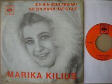 Marika Kilius - Ich bin kein Eskimo - Single 60er D CBS 1456