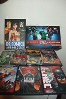DC COOMICS 10 DVD + DC ANTHOLOGIE volume cartonato FRANCESE IN BOX in cofanetto