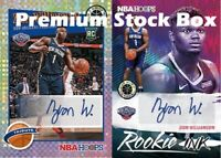 Premium Stock Box 30 Cards: 2 Auto/Relic + Stars + RCs + 1 Premium Stock Pack!!