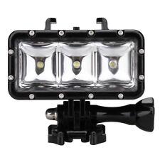 30M LED Driving lamp video light for GoPro Hero 4 3+ 3 Sports Camera Black Y6K2