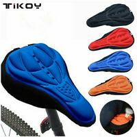 Cycling Bike 3D Silicone Gel Pad Seat Saddle Cover Bicycle Seat Cushion Comfort