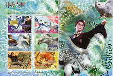 Taiwan 2004 MNH Harry Potter Prisoner of Azkaban 6v M/S Owls Stamps