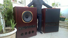 "2 x Tannoy SRM Super Red Monitor 15"" Lautsprecher speaker XXXRARE"