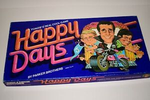 Happy Days Board Game 1976 100% Complete Fonzie Potsie Chachi Ralph Ron Howard
