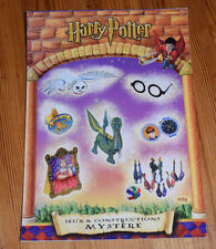 HARRY POTTER Jeux & Constructions Mystere - French games & activities book 2001
