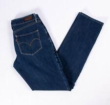 Levis Womens Bold Curve Classic Sim Leg Blue Denim Jeans - Size 30W / 31L