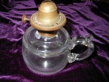 New listing 1871 Colonial Finger Tip Oil Kerosene Lamp Pat July 18,1871