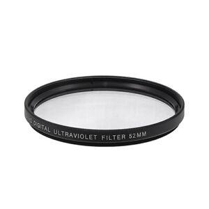 52mm UV Digital Multi-Coated Lens Glass Filter NEW