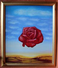 """Original """" Rose """" Acrylic Painting"""