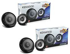 "4 x BRAND NEW KFC-1665S 6.5-INCH 6-1/2"" 2-WAY CAR AUDIO COAXIAL SPEAKERS 600 WAT"