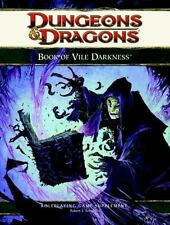 The Book of Vile Darkness : A 4th Edition D&D Supplement by Robert J. Schwalb...