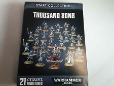 Start Collecting! Thousand Sons Starter Unassembled