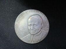 VATICANO JUAN PABLO II MEDALLA ANUAL OFICIAL  AÑO I 1979
