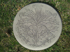 Scottish Thistle stepping stone garden ornament |57 other designs in my shop!
