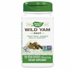 Wild Yam Root 100 Caps  by Nature's Way