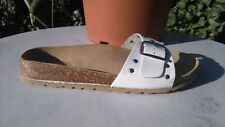 CLARKS OXFORD SMART WEDGED SANDALS, STUDDED DETAIL NEW