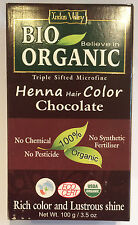 Organic Henna Hair Dye 100 Natural Hair Colour 100g Aus Chocolate