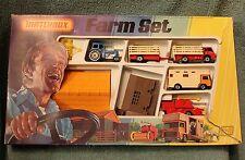 Matchbox Farm Set G-6  1979 Lesney Products