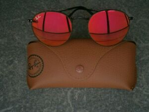 RAY BAN RB 3447 ROUND METAL UNISEX SUNGLASSES.IN BOX.