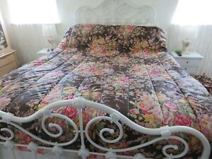 AMAZING Ralph Lauren Garden Gate Full size Comforter EXCELLENT CONDITION