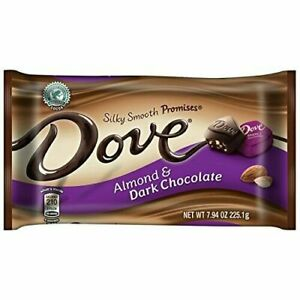 Dove Silky Smooth Promises Almond & Dark Chocolate (Pack of 2)