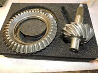 "Gleason 3.15 ratio 9 inch gear Ring & Pinion NICE NASCAR ARCA ""8 1/4"" ring gear"