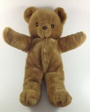 "Prestige Toy Corp Brown Bear Plush Mc Carthy 18"" 1985 Korea"