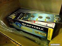 10 x OLYMPIA 3V Knopfzellen CR1620, CR-1620, CR 1620 3V Lithium Knopfzelle NEU