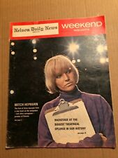 MAGAZINE ARTICLE: WEEKEND, BOBBY HULL, HOCKEY IS MY GAME PART 2, OCT 21, 1967