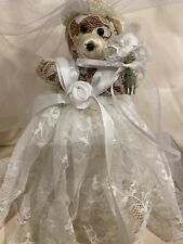 Victoria's Secret Plush Bride Teddy Bear Wedding with Tags - Vintage