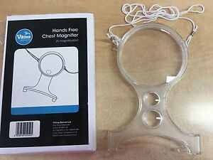 Hands Free Chest Magnifier