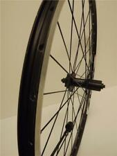 "26"" MTB BLACK Double Wall REAR WHEEL Shimano 475 DISC 8-9-10 Cassette Hub WS102R"