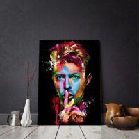 60x80cm Rock Singer David Bowie Poster Canvas Print Painting Wall Art Home Decor