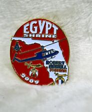 2009 Egypt Shrine Florida Helicopter Badge Pin**