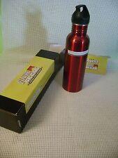 MARLBORO cigarettes WATER BOTTLE canteen aluminum red Flavor Break Promo AD item