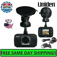 Uniden 1080P Full HD Dash Cam Car Camera Video Mount Recorder Wide View Dvr loop